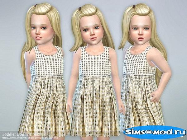 Платье Bonny для Симс 4