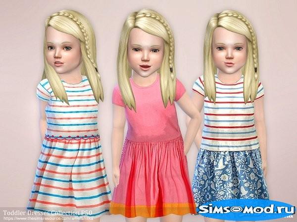 Коллекция платьев для малышек #50 для Симс 4