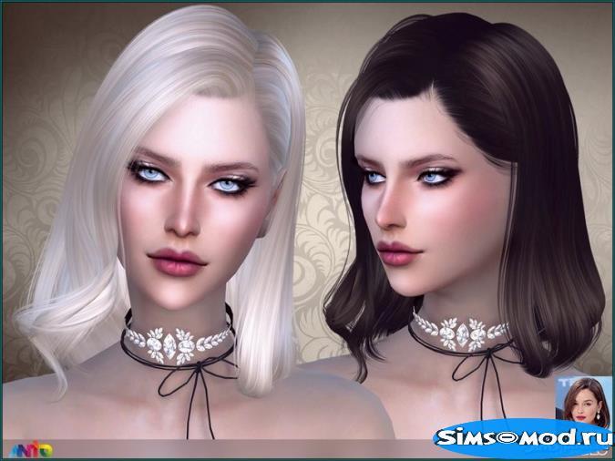Прическа Marble для Симс 4