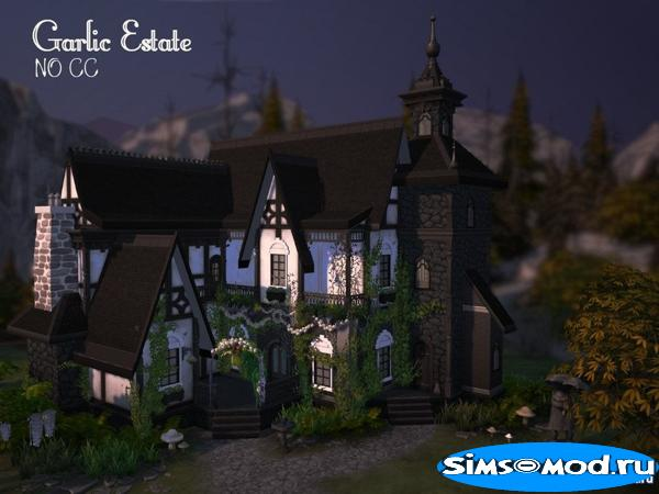 Дом Garlic Estate от VirtualFairytales для Симс 4
