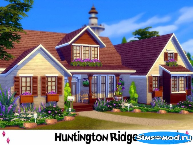 Дом Huntington Ridge для Симс 4