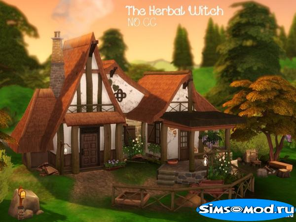 Дом The Herbal Witch от VirtualFairytales для Симс 4