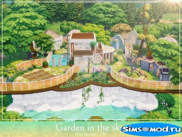 Участок Garden in the sky от Mini Simmer для Симс 4