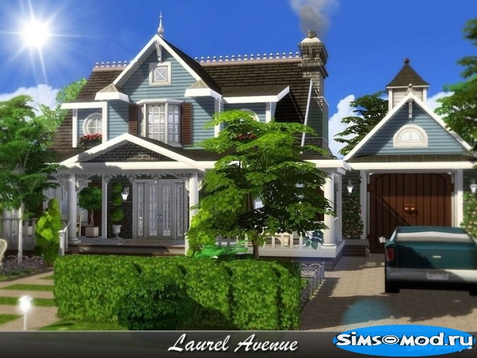 Дом Laurel Avenue для Симс 4
