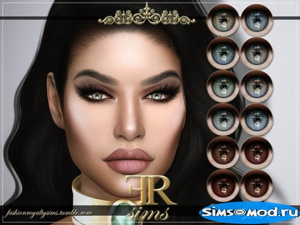 Линзы  08 от FashionRoyaltySims для Симс 4