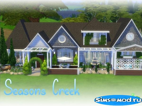 Дом Seasons Creek для Симс 4