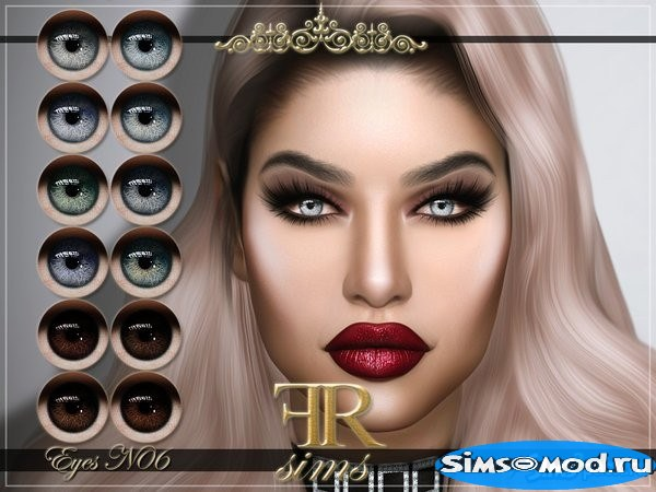 Линзы  06 от FashionRoyaltySims для Симс 4