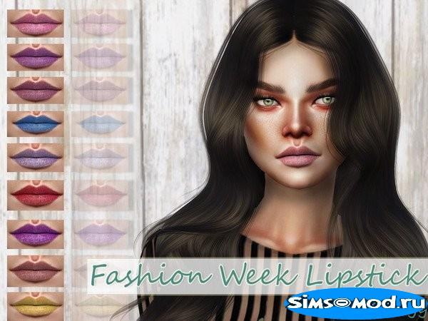 Помада Fashion Week для Симс 4