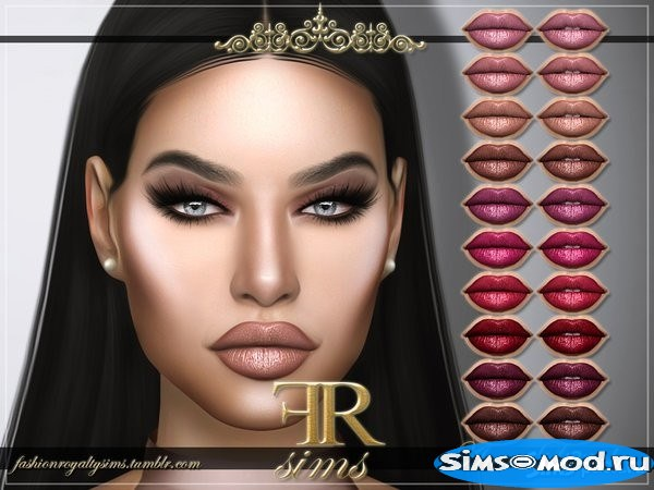 Помада Anna от FashionRoyaltySims для Симс 4