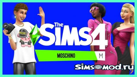 The Sims 4 Moschino Stuff