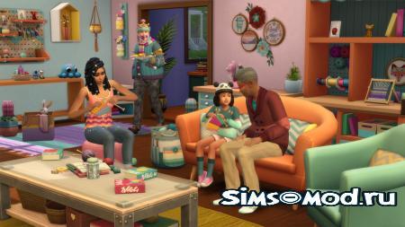 The Sims 4 Нарядные нитки